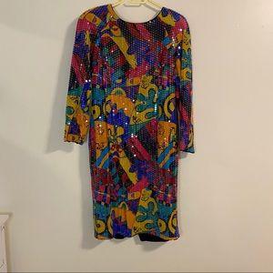 Vintage RIMINI sequin dress